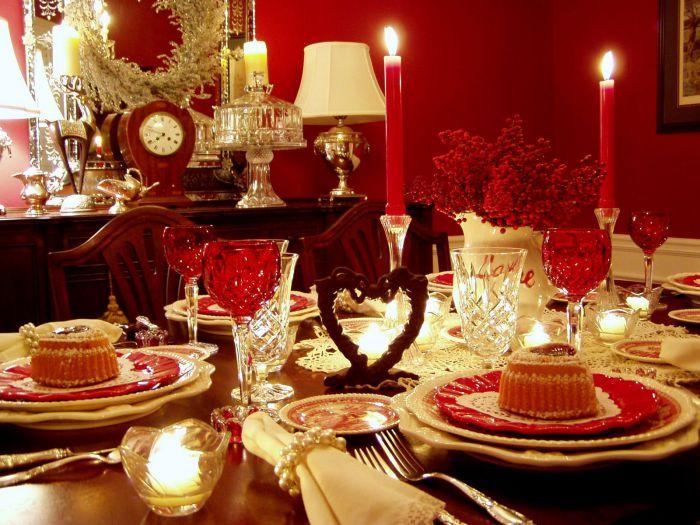 Званный ужин со свечами