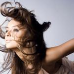 распущенные волосы